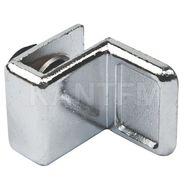 Ручка для стекл. двери с петлями D/11, хром