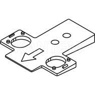 Площадка для изменения угла установки петли TIOMOS +5 грд.