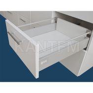 Стандартный ящик с рейлингом, длина 450 мм, серый