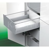 [MS] Стандартный ящик с рейлингом, tipmatic plus, 500 мм, белый