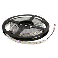 Лента светодиодная 5050/60, 24V, 5 м, теплый белый 3200К, IP20, 14.4W/1м
