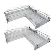 Комплект посудосушителей для углового шкафа 600х600 мм