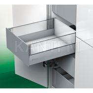 [HSCI] Внутренний ящик с наращиванием стеклом, плавное закрывание, 450 мм (прозрачное стекло)
