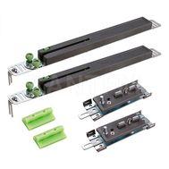 PRIDE Универсальная система плавного закрывания для шкафа-купе, 2 доводчика, 2 активатора, крепеж