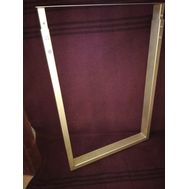 Опора для стола П-образная, 60х30, H820-870 (+5мм), золото, 1 шт.
