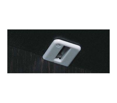 SPRING Полкодержатель с подпружиненным штоком для деревянных полок с фиксацией