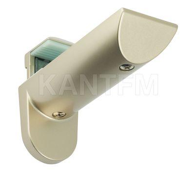KAIMAN Менсолодержатель для деревянных и стеклянных полок 7 - 41 мм, шампань (2 шт.)