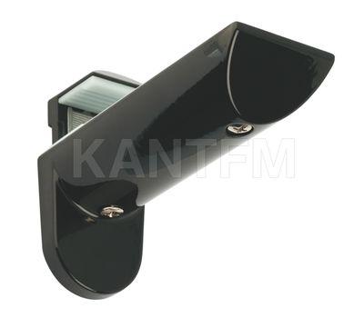KAIMAN Менсолодержатель для деревянных и стеклянных полок 7 - 41 мм, черный (2 шт.)