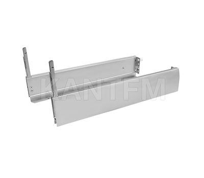 NOVA PRO CRYSTAL DELUXE Боковина h=90 мм серый металлик, 450 мм (прав.+лев.)