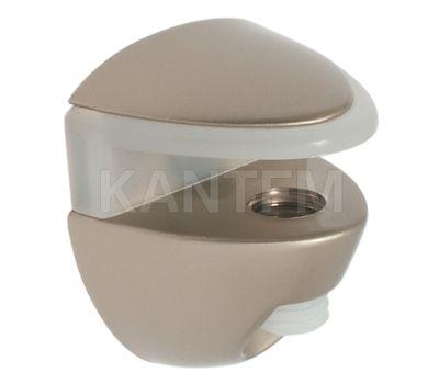 COBRONE Полкодержатель для стеклянных полок толщиной 8-10 мм, никель
