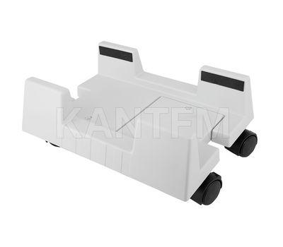 Подставка для системного блока с колесными опорами, серый