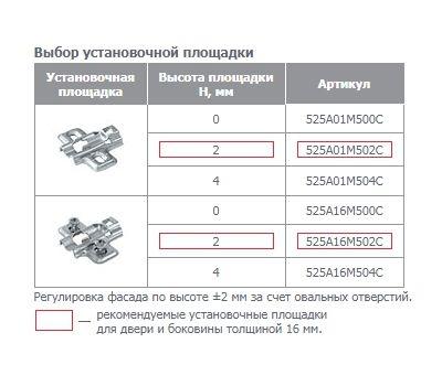Петля HARMONY с амортизатором угловая (+30/95)
