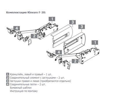 Kinvaro F-20 Складной подъемный механизм (тип 7C) без заглушек
