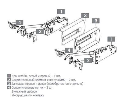 Kinvaro F-20 Складной подъемный механизм (тип 5C) без заглушек