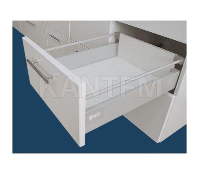 Стандартный ящик с рейлингом, длина 500 мм, серый