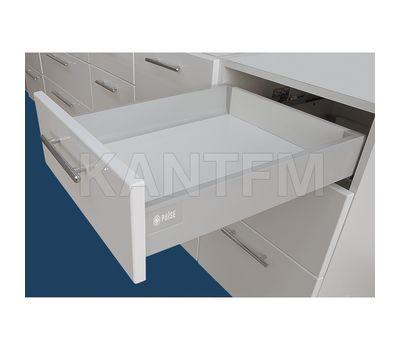 Стандартный ящик, высота 96 мм, длина 500 мм, серый