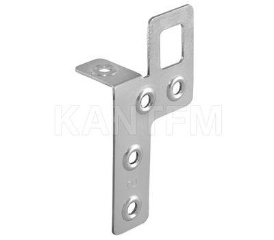 Навес металлический с креплением в двух плоскостях, 22х40х81 мм, правый