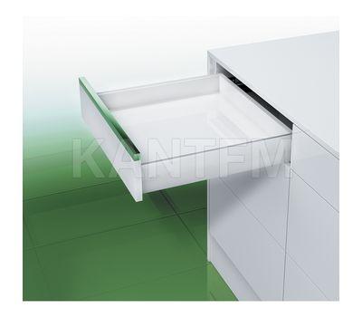 [S] Стандартный ящик без рейлингов, плавное закрывание, 500 мм, белый