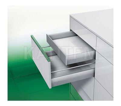[SI F8] Внутренний ящик F8 без рейлингов, плавное закрывание, 450 мм