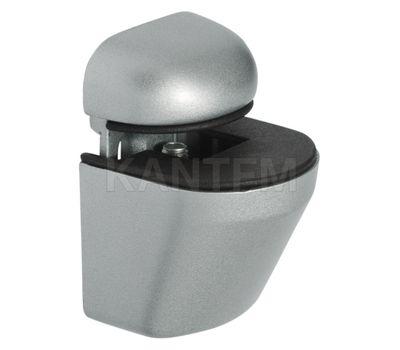 ПЕЛИКАН Менсолодержатель для деревянных и стеклянных полок 4 - 22 мм, хром матовый