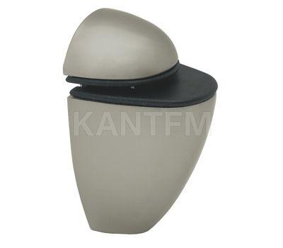ПЕЛИКАН Менсолодержатель для деревянных и стеклянных полок 4 - 20 мм, никель матовый