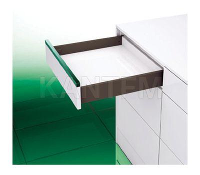 [S] Стандартный ящик H=89, плавное закрывание, коричневый, 500 мм