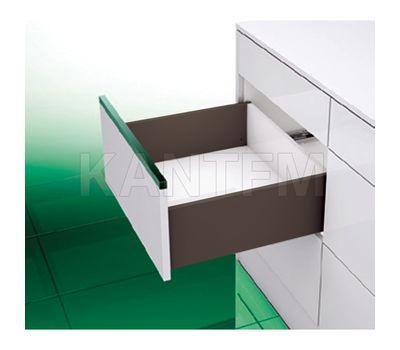 [T] Высокий ящик H=185, плавное закрывание, коричневый, 500 мм