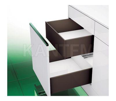 [TI] Внутренний высокий ящик h=185 мм, плавное закрывание, коричневый, 500 мм