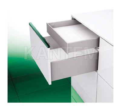 [SI] Внутренний стандартный ящик H=89 мм, плавное закрывание, серый металлик, 500 мм