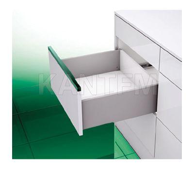 [T] Высокий ящик H=185, плавное закрывание, серый металлик 500 мм