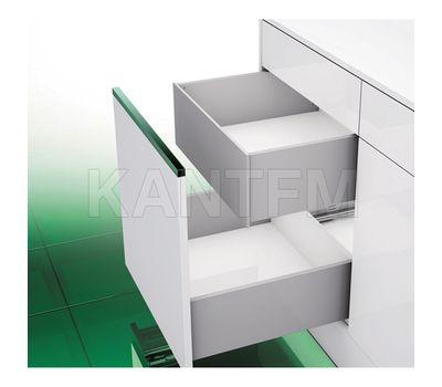 [TI] Внутренний высокий ящик h=185 мм, плавное закрывание, серый металлик, 500 мм