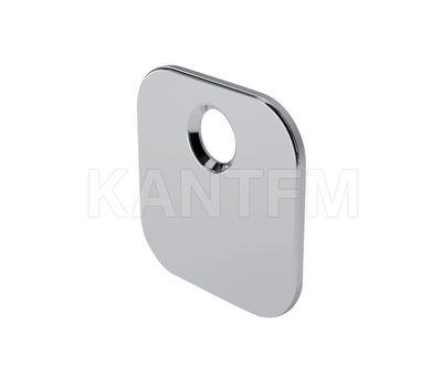 K-PUSH TECH ответная планка квадратная под саморез, никель
