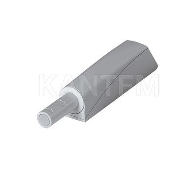 K-PUSH TECH толкатель накладной 14 мм с демпфером, серый