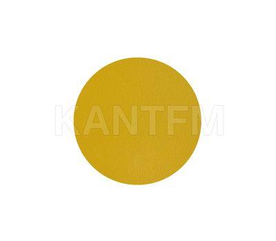 Заглушка самоклеящаяся жёлтая, D20 мм (18 шт.)