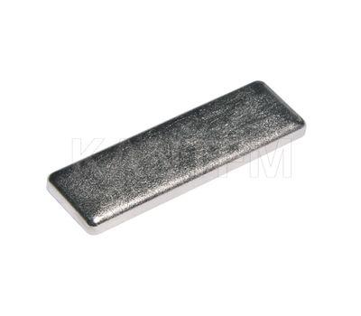 LIBRA CC1 Заглушка для навесов D12, металл, никель