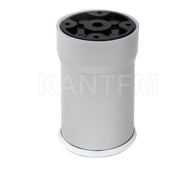 Опора декоративная D56мм, Н60+27мм хром матовый/хром