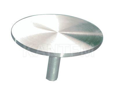 Элемент для клейки стекла на трубу d 25 с винтом М10 сталь