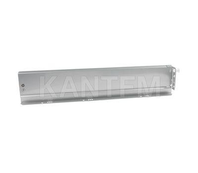 NOVA PRO DELUXE Боковина h=90 мм серый металлик, 450 мм (левая)