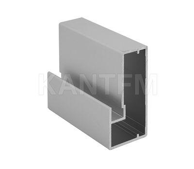 INTEGRO Профиль рамочный широкий, 45х20х20, серебро, L-6000