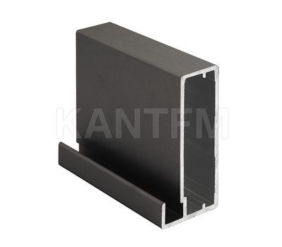 INTEGRO Профиль рамочный широкий, 45х20х8, бронза, L-6000