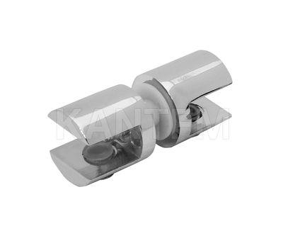 Полкодержатель для стекла 8-10 мм двухсторонний, хром