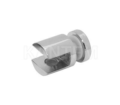 Полкодержатель для стекла 8-10 мм односторонний, хром