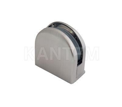 Коннектор ДСП-стекло 8-12 мм, никель сат.