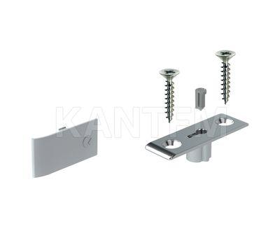 LINK Механизм для открывания фасада вниз N262, серебро