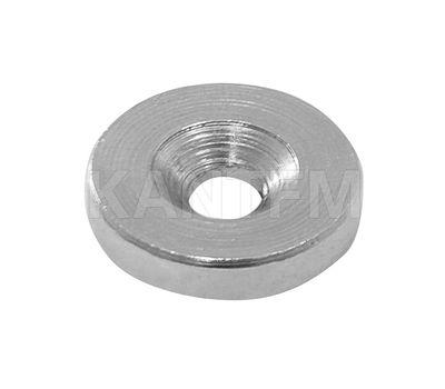 Ответная планка для магнита под саморез, D16 мм