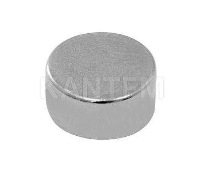 Врезной магнит неодимовый, D10 мм