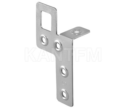 Навес металлический с креплением в двух плоскостях, 22х40х81 мм, левый