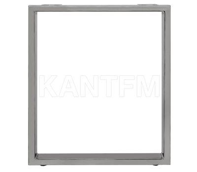 Опора для стола П-образная, 60х30, H720+5мм, хром матовый, 1шт.