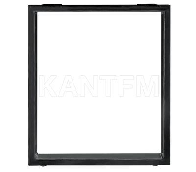 Опора для стола П-образная, 60х30, H720+5мм, черный, 1шт.