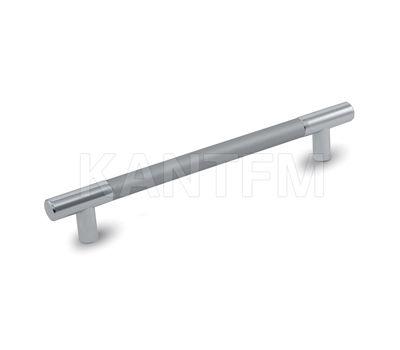 Ручка-рейлинг 192мм хром/алюминий